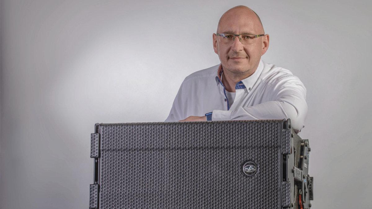 Arne Deterts leitet die deutsche Niederlassung von DAS Audio