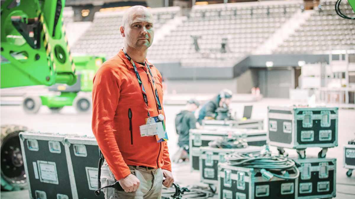 Erwin Rintjema führt die technische Crew des ESC an