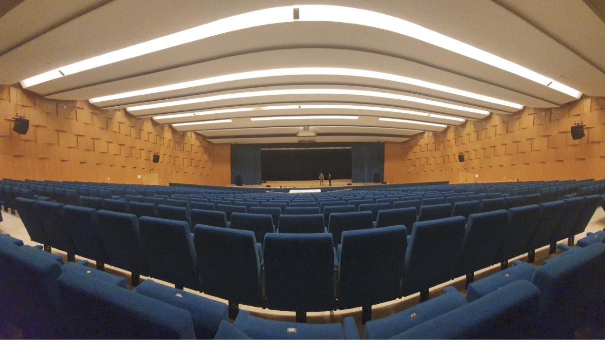 SEC Veranstaltungstechnik installiert Adamson im Mediencampus Darmstadt