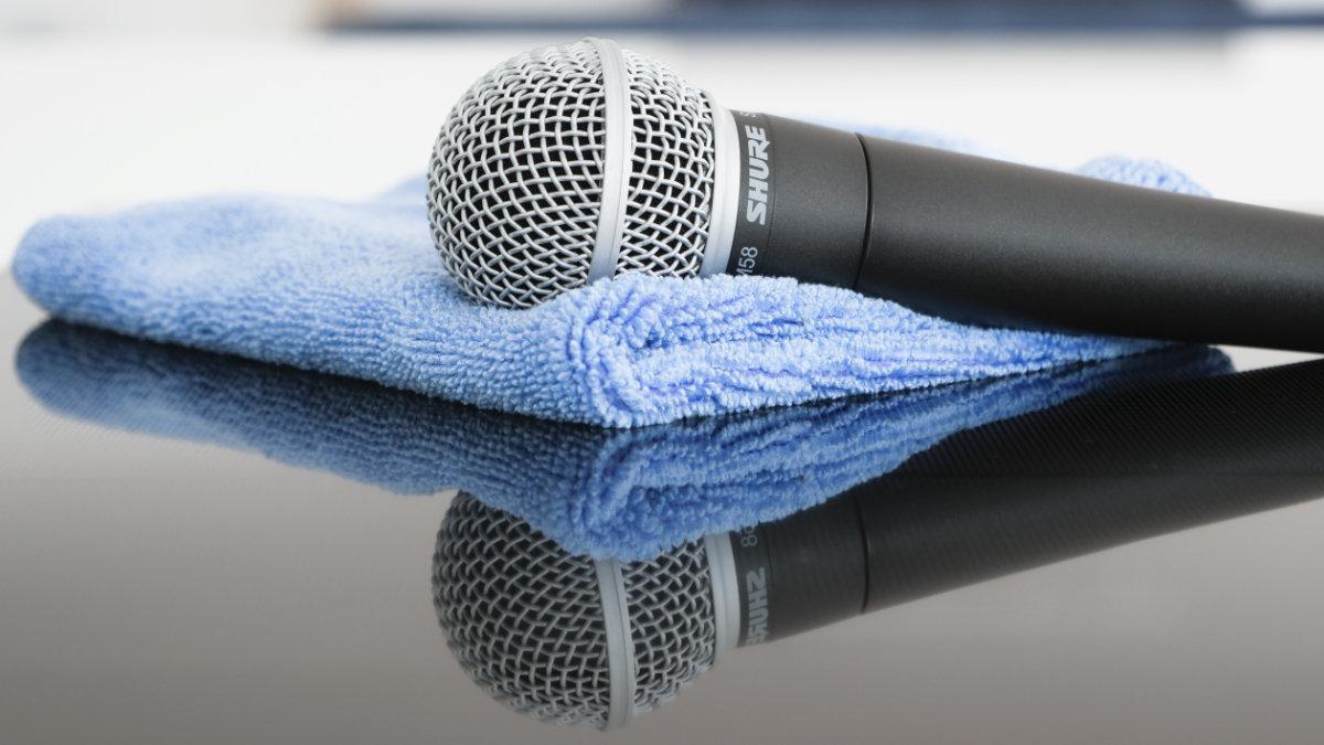 Shure veröffentlicht Empfehlung zur Reinigung von Equipment