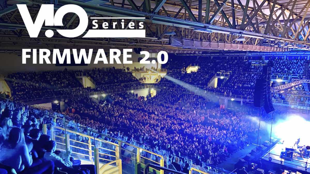 dBTechnologies veröffentlicht VIO Firmware 2.0
