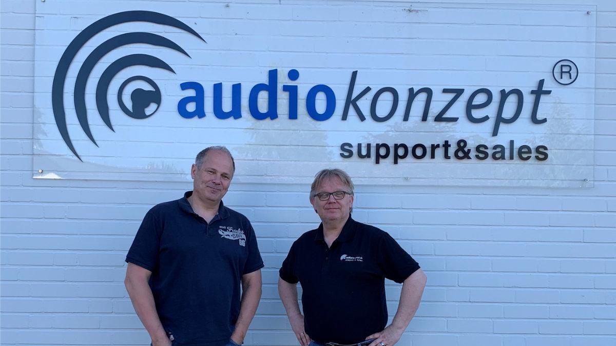 Matthias Meschkat verstärkt audiokonzept