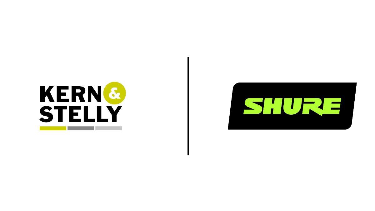Shure und Kern & Stelly gehen Partnerschaft ein