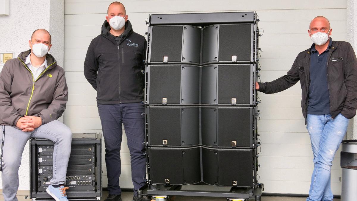 Wallraf Veranstaltungstechnik investiert in L-Acoustics