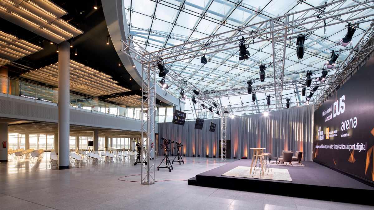 Neumann&Müller eröffnet Event-Location Station Airport in Düsseldorf