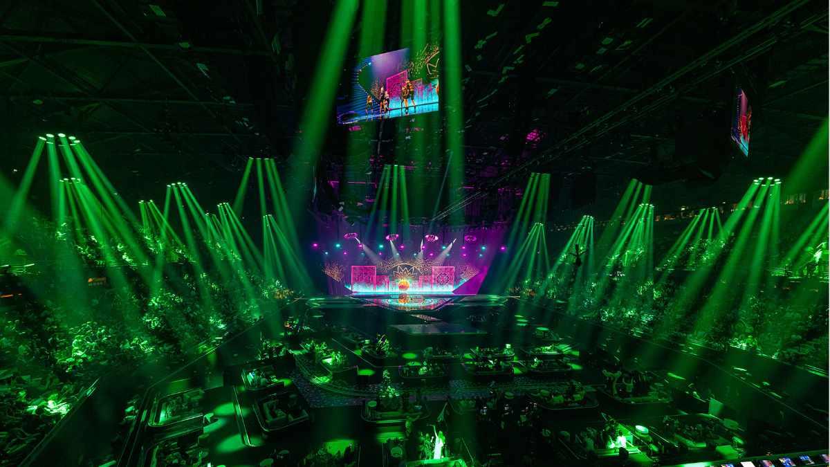 ROBE beim Eurovision Song Contest in Rotterdam