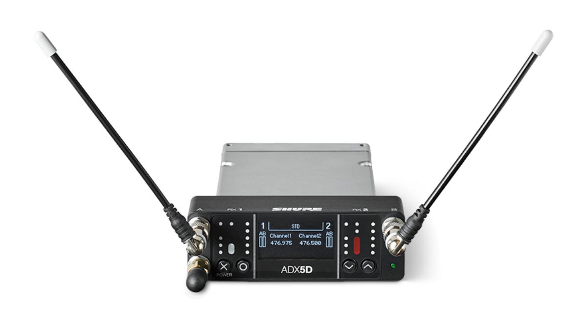Shure Axient Digital ADX5D Kameraempfänger vorgestellt