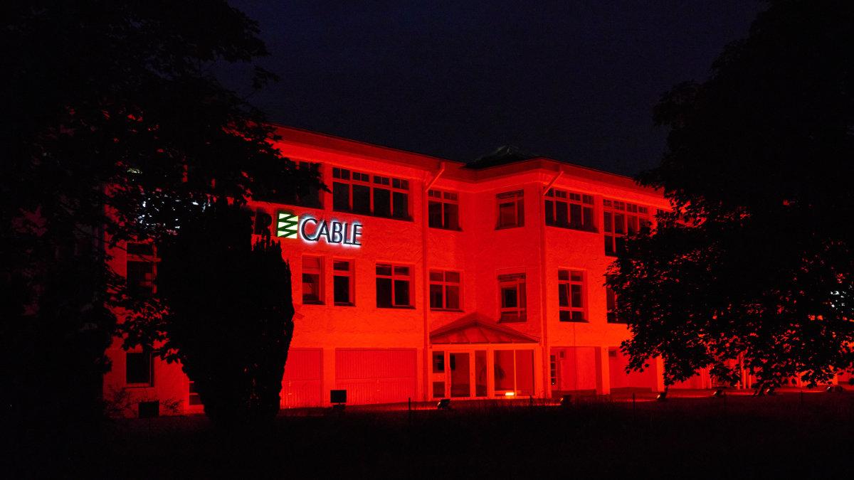 SOMMER cable unterstützt die Night of Light 2021