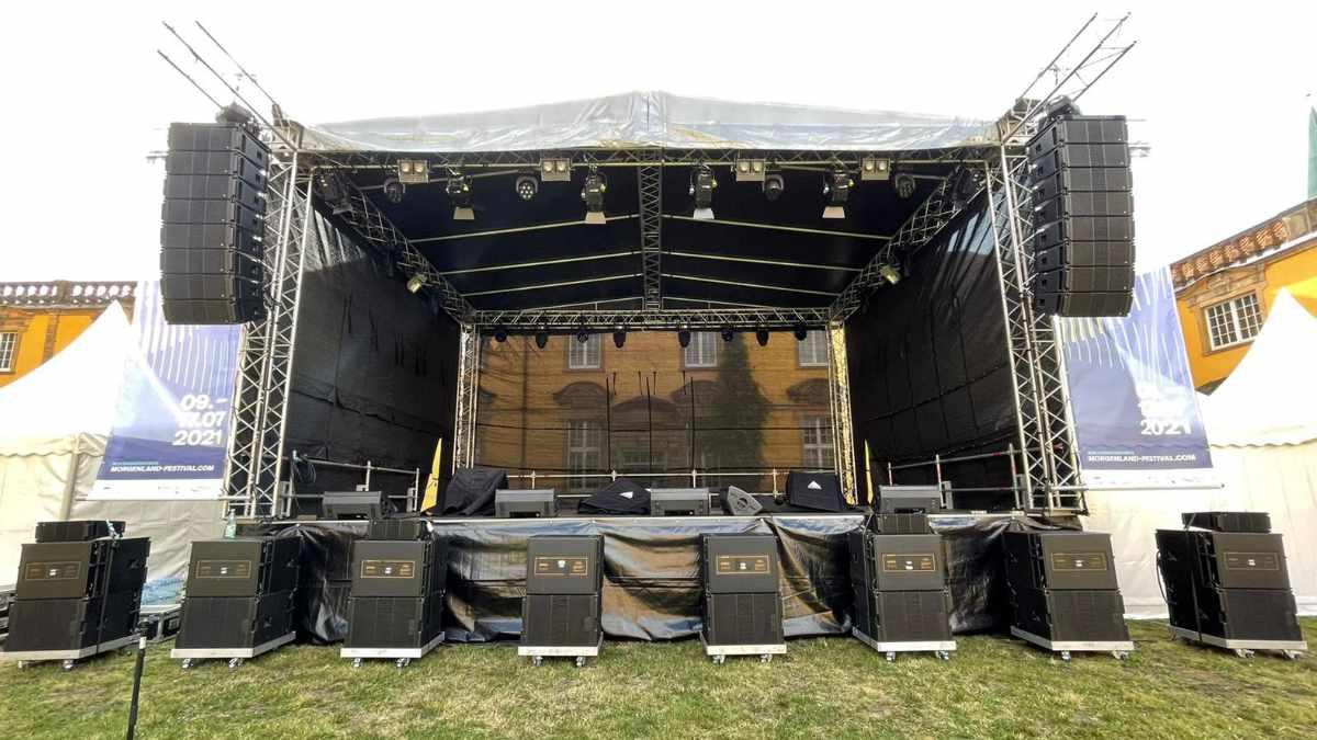 Adamson beschallt das Morgenland Festival