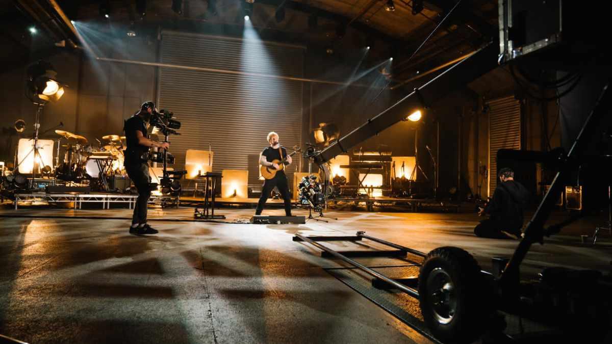 ELS setzt bei Ed Sheeran auf Blackmagic