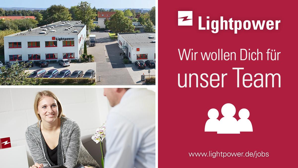 Lightpower sucht einen Kundenberater im Verkauf – Innendienst (m/w/d)