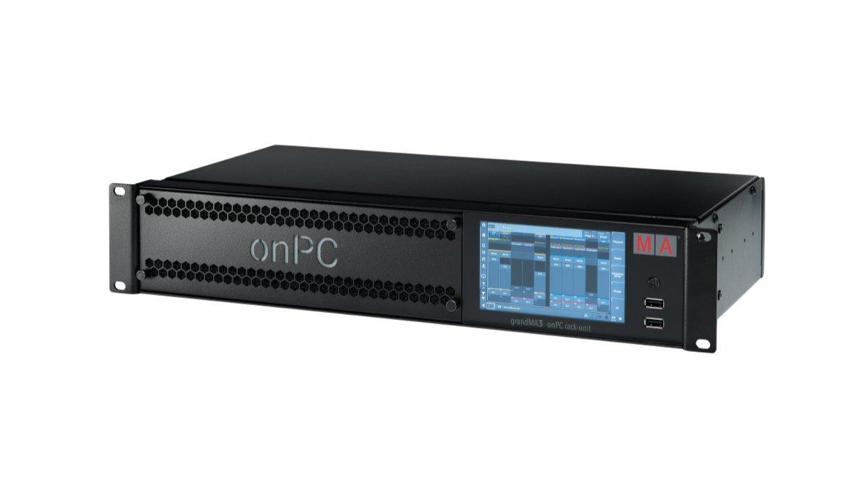 MA Lighting stellt grandMA3 onPC rack-unit vor