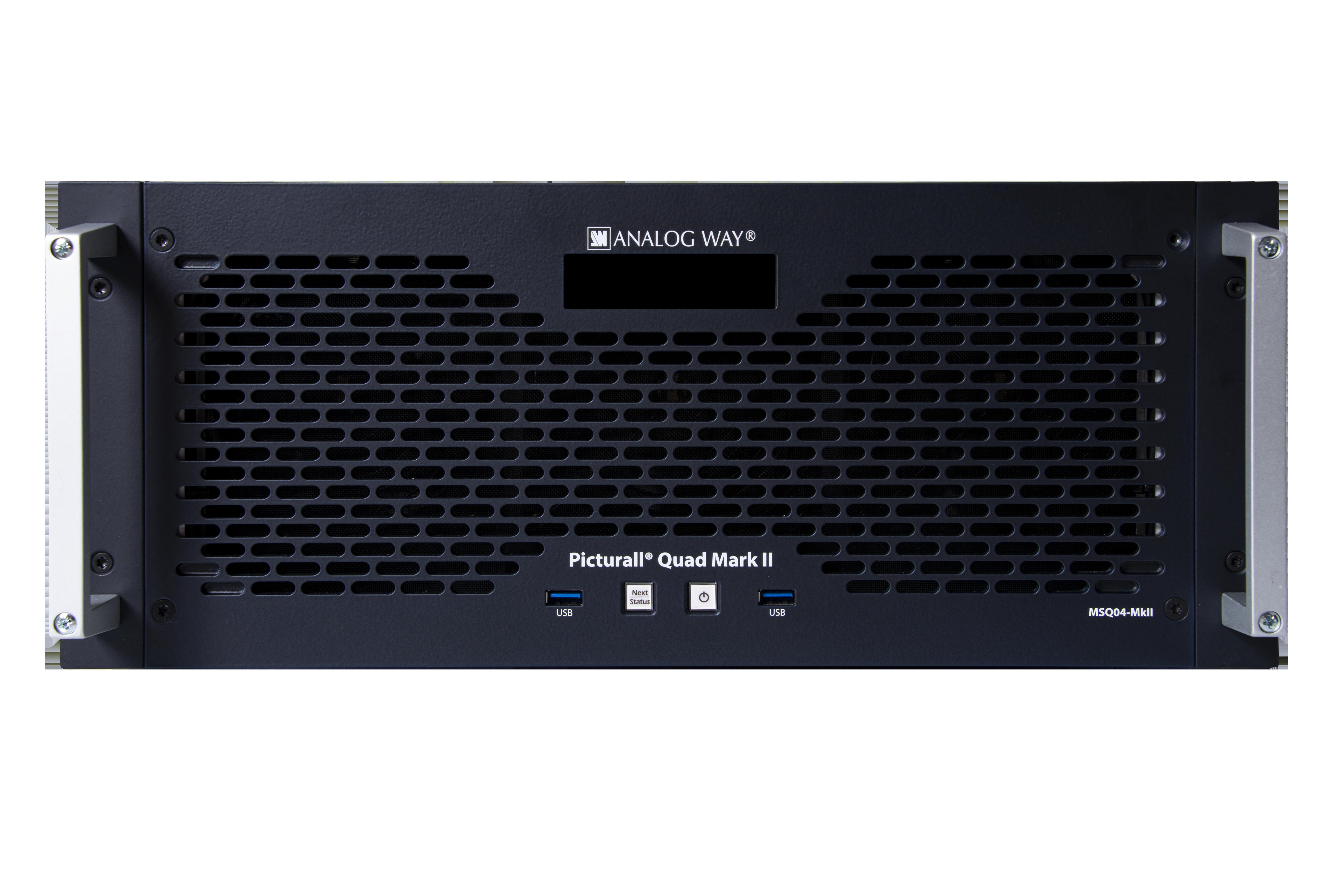 Bildkraft entscheidet sich für den Picturall Quad Mark II Media Server
