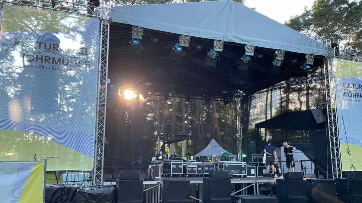 Verantec investiert in ein MPT-Bühnendach von Prolyte