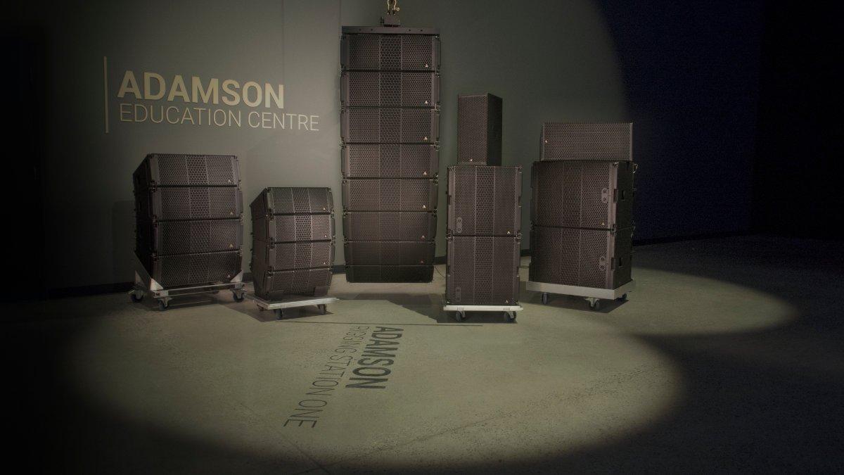 Adamson bietet Blueprint AV-Training an