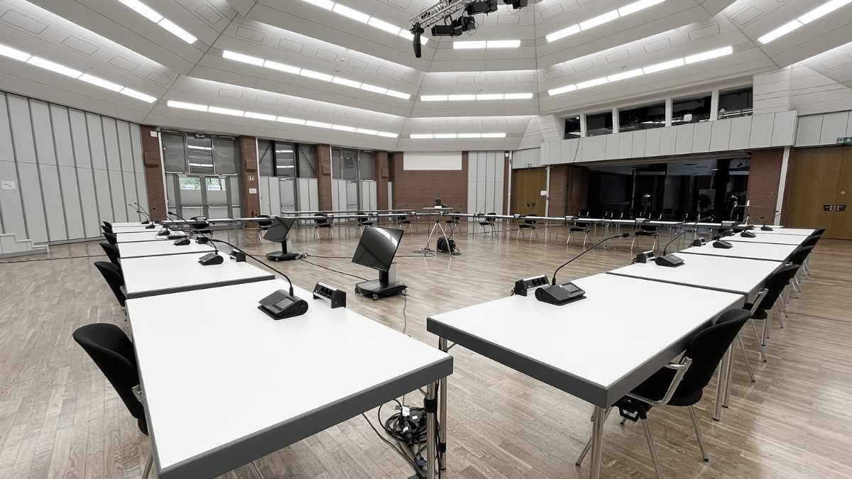 Shure Microflex Complete Wireless in der Burg Seevetal
