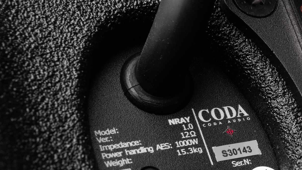 CODA Audio bietet Marine Grade 1 als neue Wetterschutz-Option an