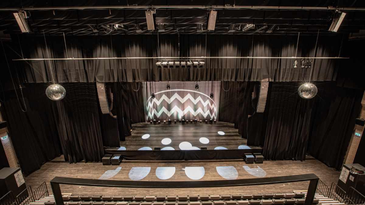 Meyer Sound LINA im Kulturhus Trommen
