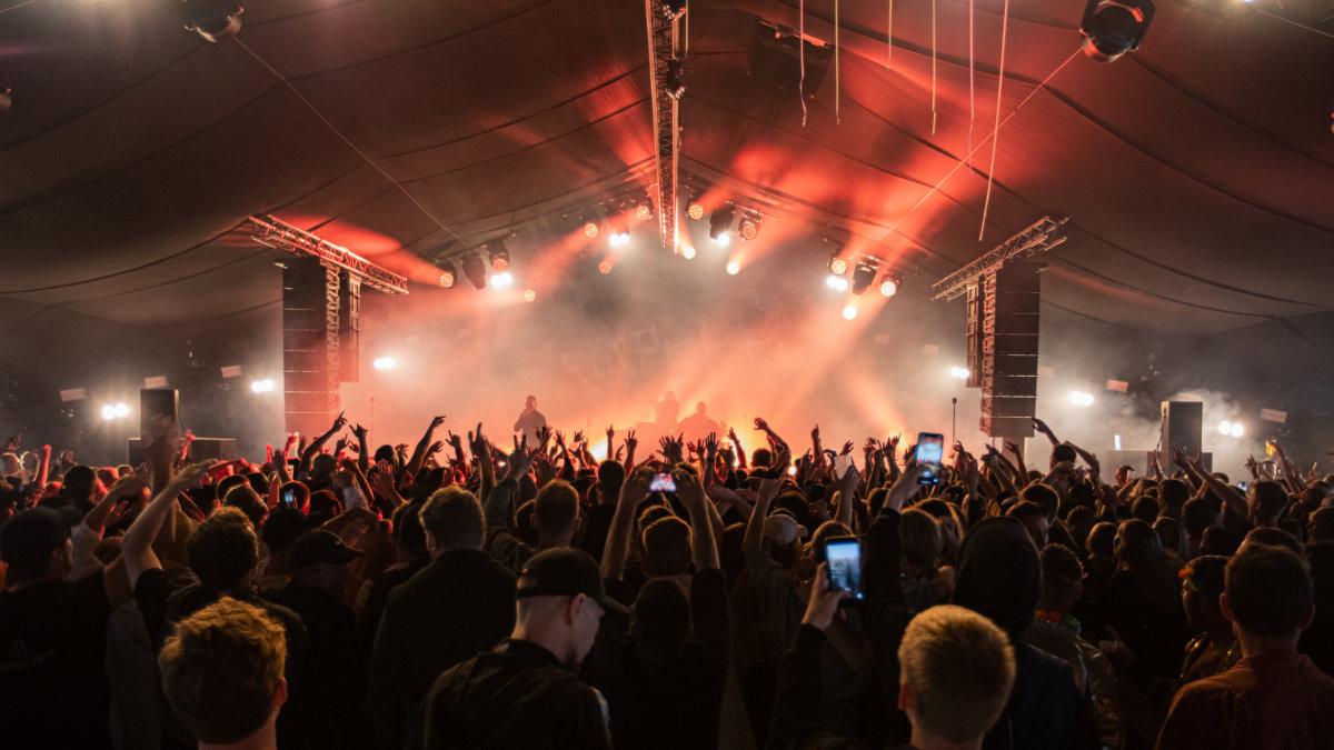 Meyer Sound beim Roskilde Festival