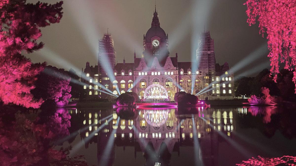 Der Ayrton Perseo Beam setzt das Hannover Klassik Open Air in Szene