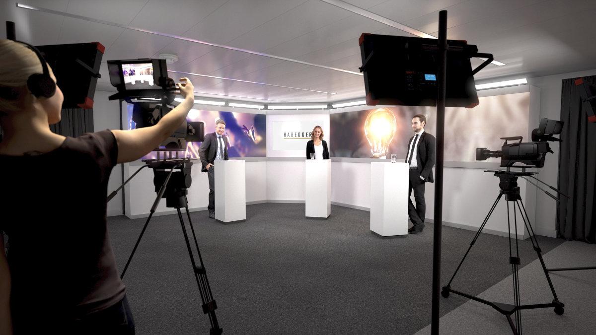 Habegger und Gotham eröffnen Studio in Lausanne