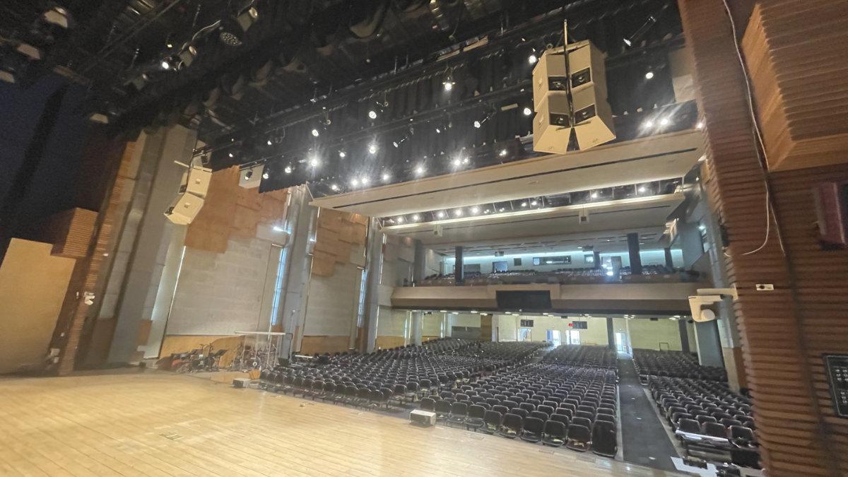ETC Source 4WRD II-Upgrade für die Samil Church in Seoul