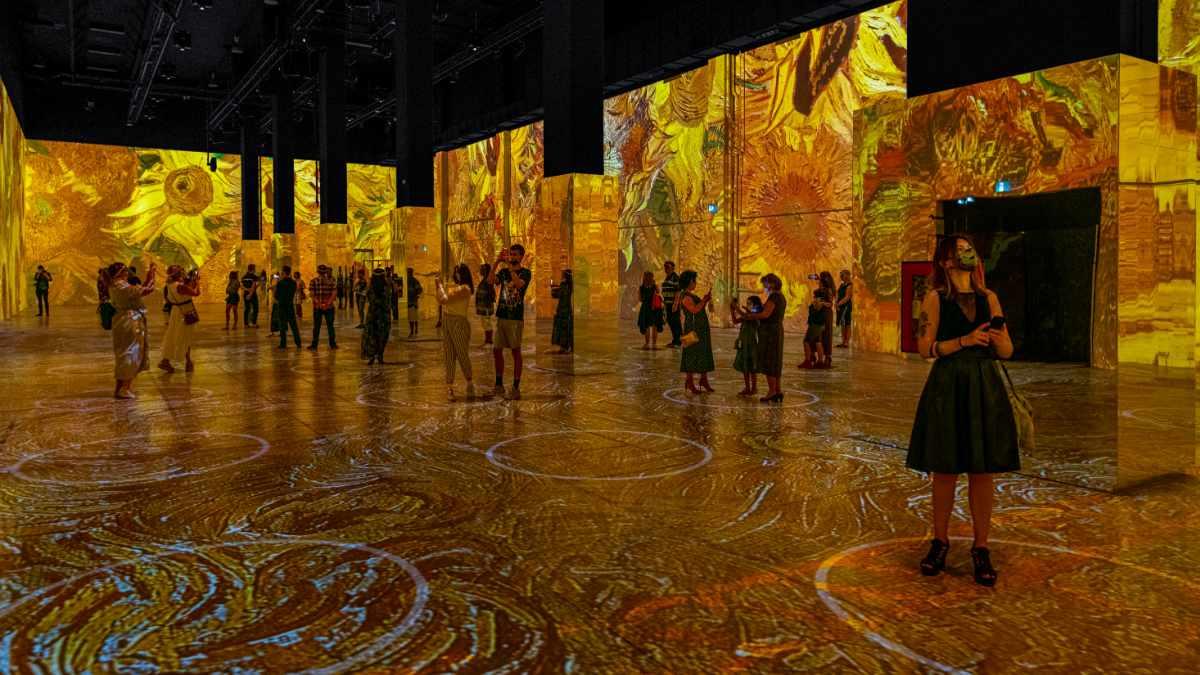 Meyer Sound beschallt Immersive Van Gogh