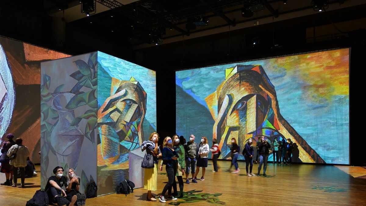 Panasonic Projektoren setzen Impressionisten neu in Szene