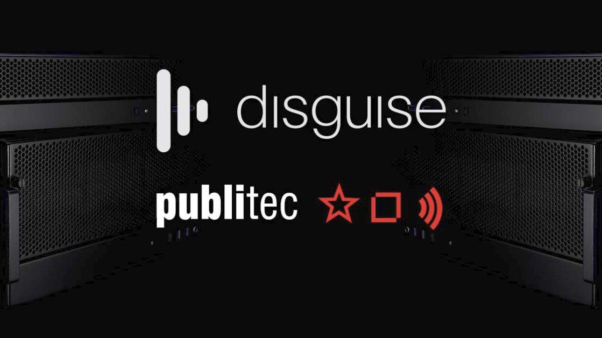 publitec investiert in weitere disguise Server